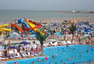 пляж центральный ейск фото